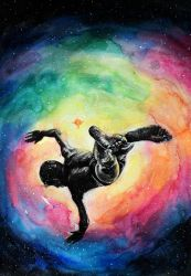 Jump into A Universe of infinite possibilities by KlarEm