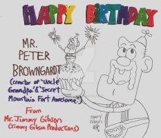 Happy Birthday Peter Browngardt! by CelmationPrince
