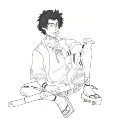 day 6 Mugen by atralues