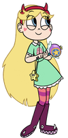 Star Butterfly by Hellengomes15