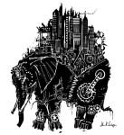 Steampunk Elephant by JohnKohlepp