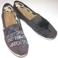 Game of Thrones Painted Shoes by Ceil