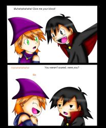Ash And Misty: Vampire Colored by xmizuwaterx