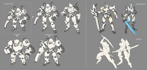 Robots Study by metalkid