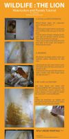 Wildlife : LION Tutorial by ashiong