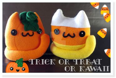 Trick or Treat or Kawaii by Elfedward