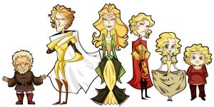asoiaf - lannisters by spoonybards