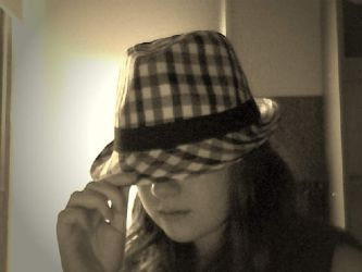 Checkered Hat by TheLegendOfTheRose