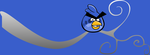110302 - Angry Twitter Bird by arsdraconis