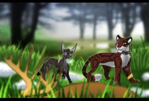 Hunting for prey by ICUDO