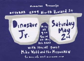 Dinosaur Jr. by firecrotch
