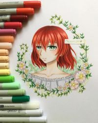 Chise ~ Ancient Magus Bride by Obsercule-Arts