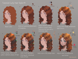 Tutorial: Curly Hair Style 1 by EndlessRz