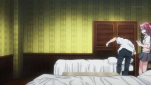 [GIF] Railgun S : GET UNDER THE BED! by RedRook96