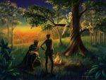 Elven melody for weary travelers by Svetlaya777