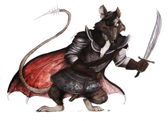 Redwall: Cluny the Scourge by FairytalesArtist