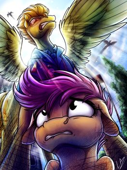 Fullbody Wing and Hoof Cast... by LupiArts