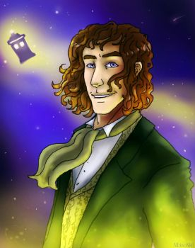 The Eighth Doctor by AlbinoNial
