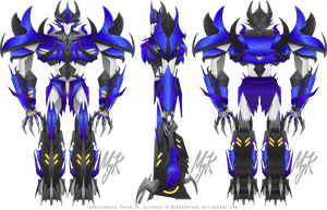 Transformers Prime: Predacon OC - SkipShot by MessyArtwok