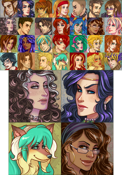 Icons_updated by CrystalCurtisArt