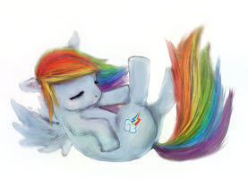 Rainbow Dash by S1ghtly