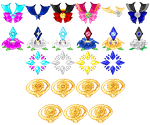 Giveaway Icons by merelei
