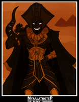 Nyarlathotep:The Black Pharaoh by MobianMonster