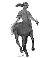 Another Centaur by CallMeSiv
