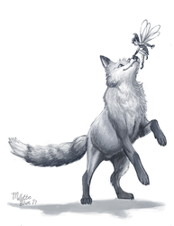 Fox and the Fairy by mallettepagan0