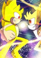 last request : super sonic and super tails by IBA2004