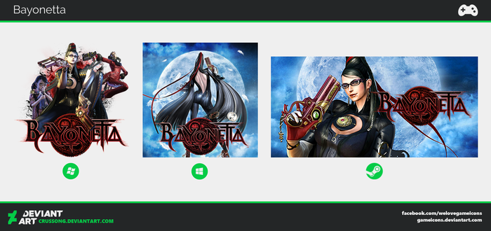Bayonetta - Icon by Crussong