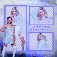 Amanda Steele Png-Pack// 5 pngs by anna11blue