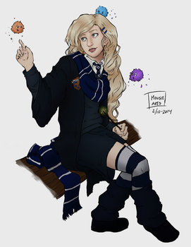 Luna Lovegood by aevrynn
