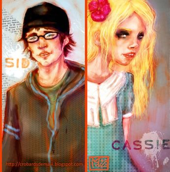 Cassie and Sid - SKINS by la-maiii