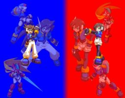 Megaman ZX -Advent- by Volnutt