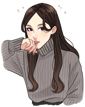 Yeonhee Sketch by Hyeoii