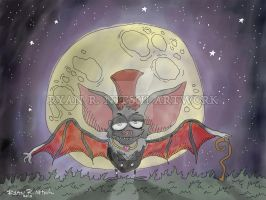 Gothic Bat - Ryan R. Nitsch by RyanNitsch