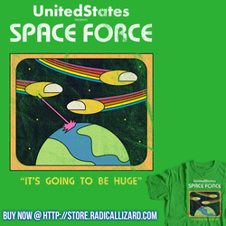 Retro Space Force by Gudsforladt