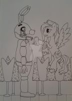 Fnaf: You poor thing by Elmer157Typhlosion