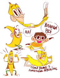 Bananaboy by chainsawrockets