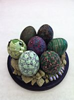 Dragon Eggs: Nest by KatherineReedKS