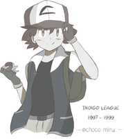 Ask Ketchum Collection - Indigo League by chocomiru02
