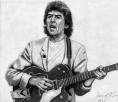 George Harrison by GaryMOConnor