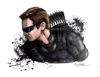 Hawkeye by Iantoy