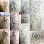 Top 10 sketches by vertry
