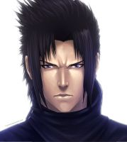 Sasuke Portrait by Juhani