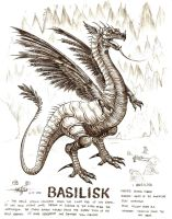 basilisk by artstain