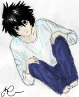 Lawliet by animex3angel