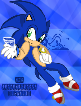 .:Sonic:. by Serpent-Cross