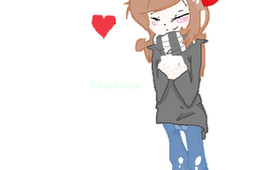 .:Gif:. MEH AND COFFE (?) by MicaelaMeow